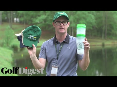 Masters Swag at Augusta National