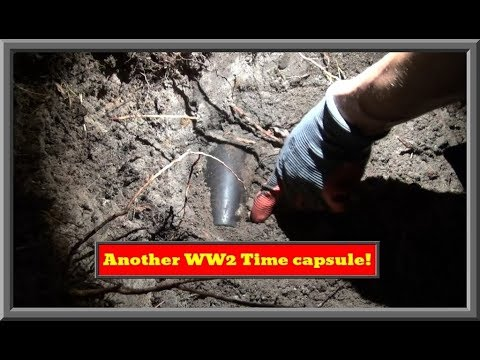 Finding and opening another WW2 time capsule.