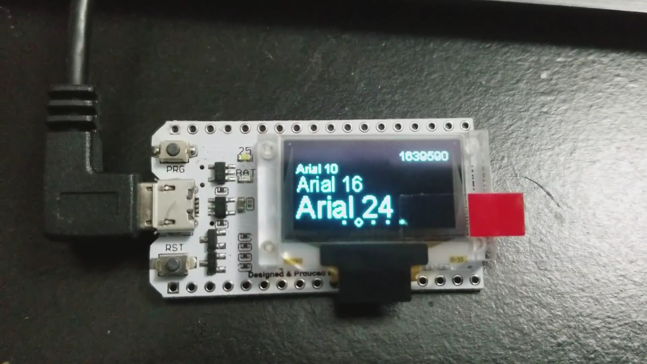 Heltec Automation ESP32 Development Board With 0 96inch OLED Display