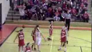 2/25/14 - Girls Basketball vs Harlan (Sub-state)