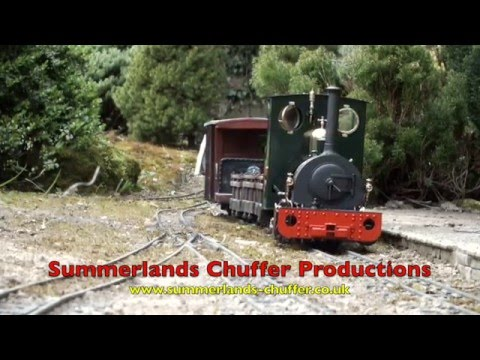 "Hunslet ""Jack"" at Dingle Leigh Railway – Live Steam Garden Railways"