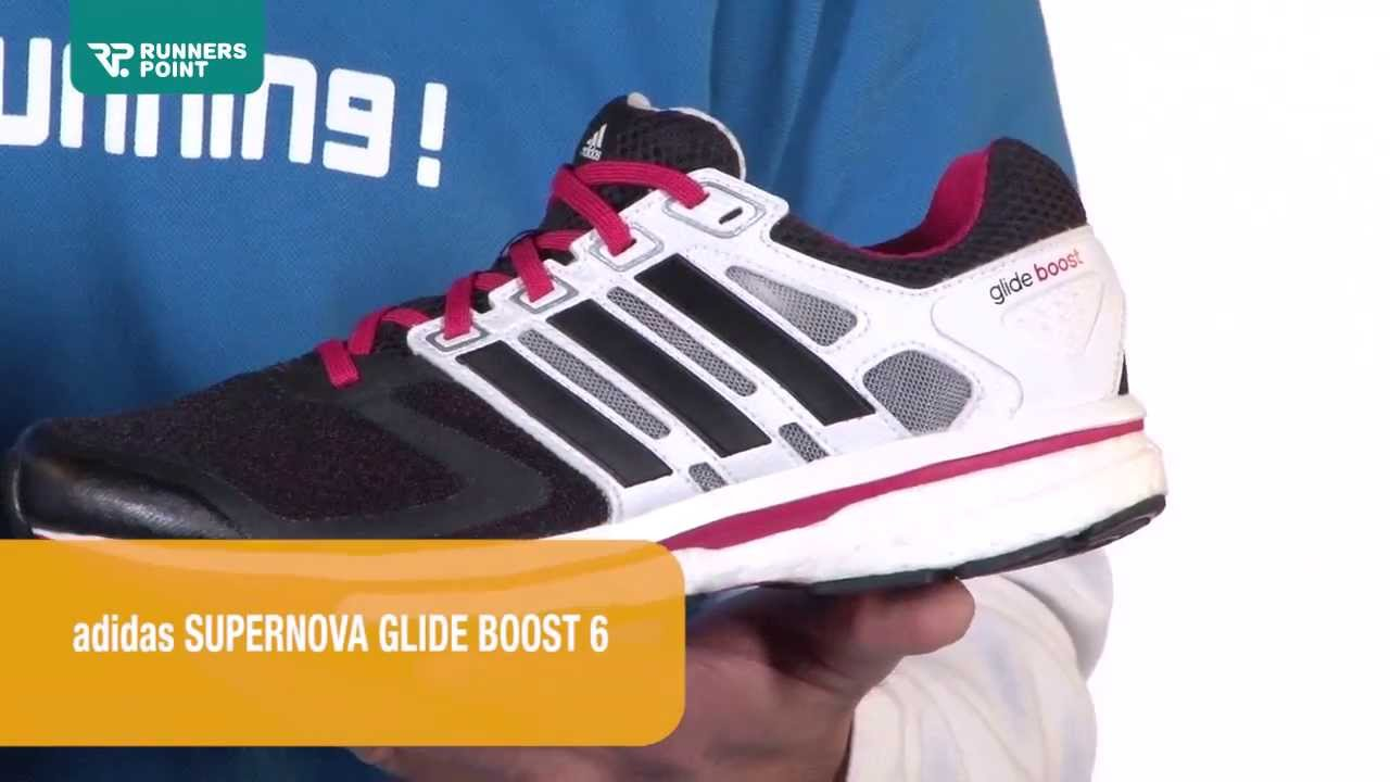 Damen Laufschuhe adidas Supernova Glide Boost 6 - YouTube