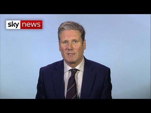Shadow Brexit Secretary talks second referendum