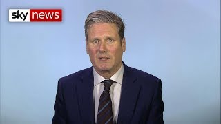 Shadow Brexit Secretary talks second referendum