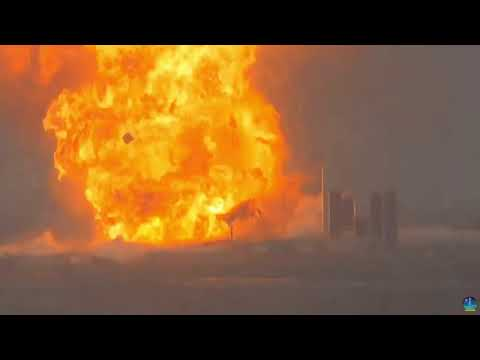Boom! SpaceX Starship SN4 explodes during latest round of testing
