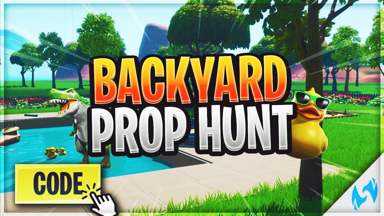 BACKYARD PROP HUNT - Fortnite Creative Codes - Dropnite com