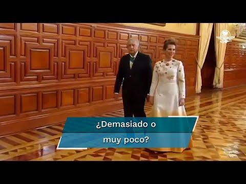 El vestido de Beatriz Gutierrez Müller que dividió opiniones