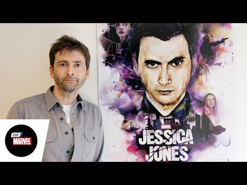 Ask Marvel: David Tennant, Kilgrave — Marvel's Jessica Jones