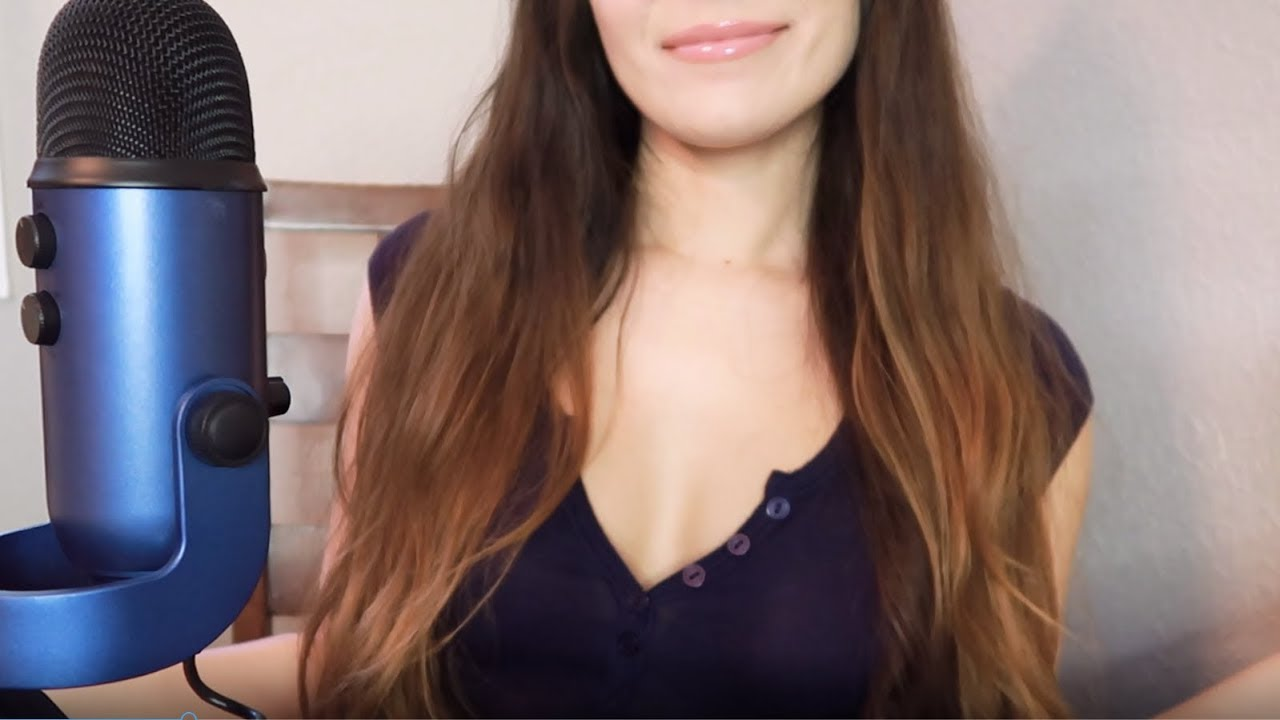 Asmr pov handjob with brushing, stippling, whispering and repeating words