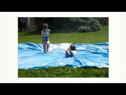 Простые игры для детей на даче