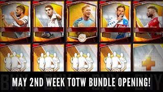 Fifa mobile may week 2 totw bundle opening ! ripping the totw packs for new totw elites!