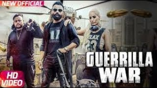 Guerrilla War Amrit Maan New Single Track Song Music Given by Deep Jandu