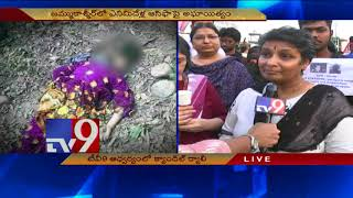 Unnao & Kathua rapes - TV9 holds candle rally i...