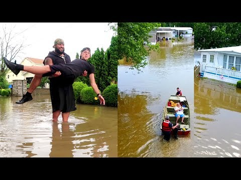 Thumbnail: EVACUATION....OUR CITY FLOODED!!