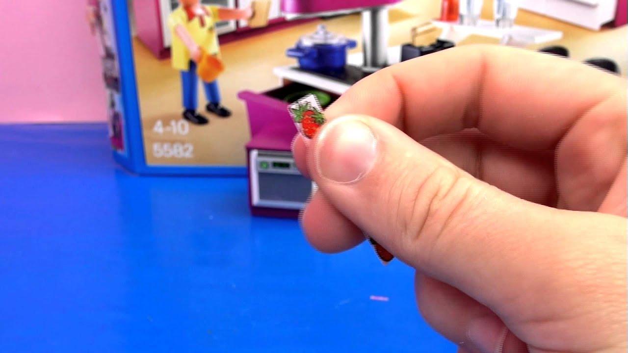 Playmobil Küche Demo - Aufbau und Review der Playmobil Designerküche ...