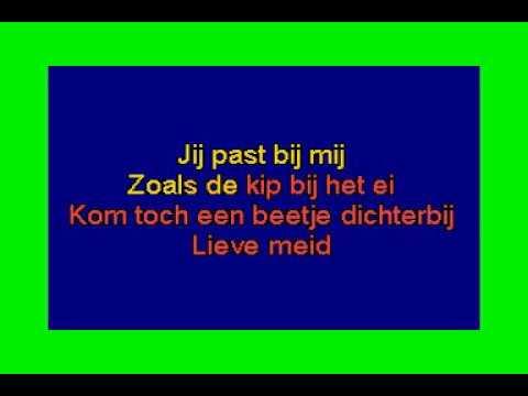 Tony Bass  -  Lieve meid ( KARAOKE ) Lyrics