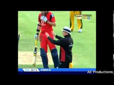 Ricky Ponting run-out compilation in order