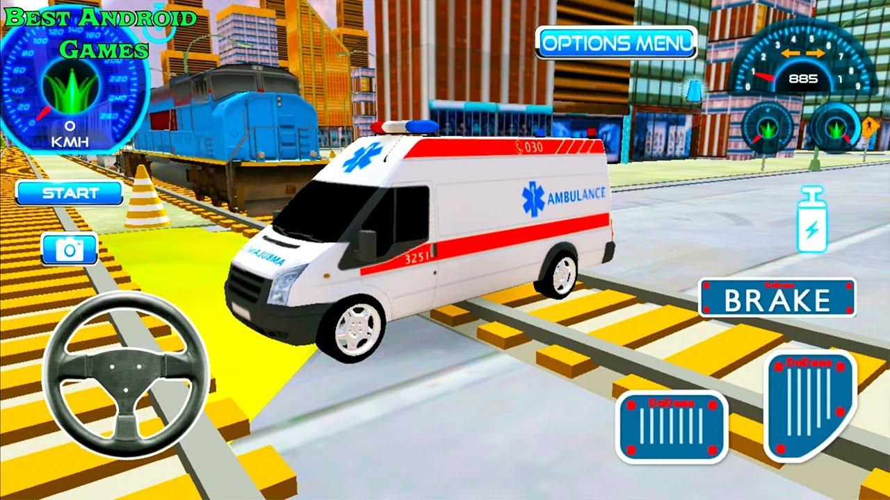 صورة فيديو : سيارة إسعاف مجنونة في إنقاذ الطوارئ الجديدة – محاكي القيادة – العاب سيارات – ألعاب أندرويد