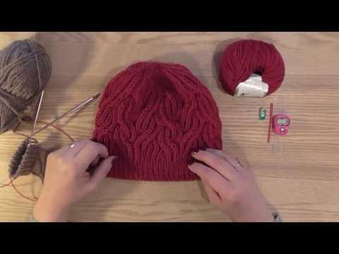 bccfcd3fe921 Škola pletení a háčkování Katrincola yarn - pletený brioche do kruhu
