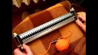 Урок 1.Настройка вязальной машинки Ивушка - установка планок