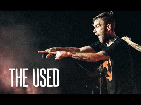 The Used - Live In Hong Kong @ Musiczone 20150810 (full set)