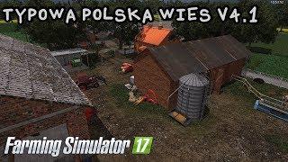 ️Prezentacja mapy - Typowa Polska Wieś V4.1 #37 Farming Simulator 17
