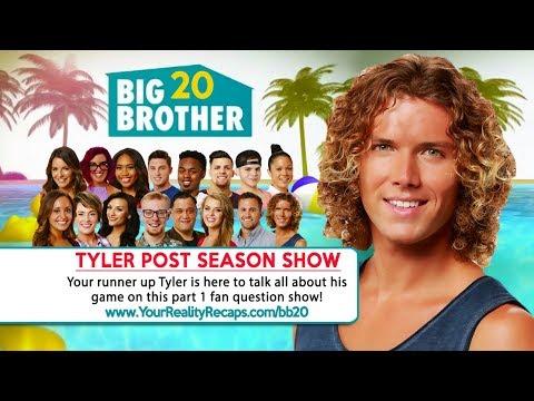 #BB20 POST SEASON INTERVIEW: Tyler Crispen PT1