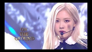 Rosé On The Ground 0404 Sbs Inkigayo MP3