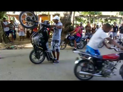Moto Piruetas @Birongo Higuerote
