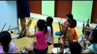 Rasa Sayang - Angklung by Kids from Care Corner