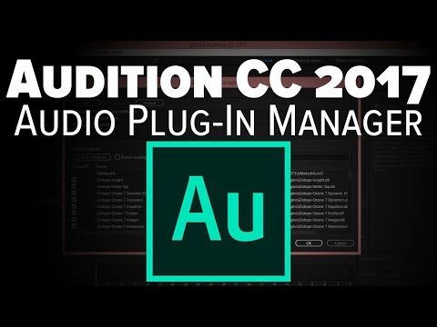 Adobe Audition CC Tutorial: Third Party VST Management [2017]