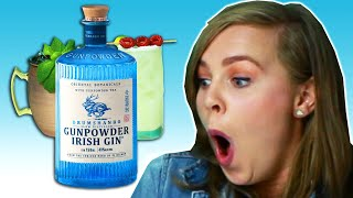 Download Irish People Try Gunpowder Gin Cocktails Mp3 and Videos