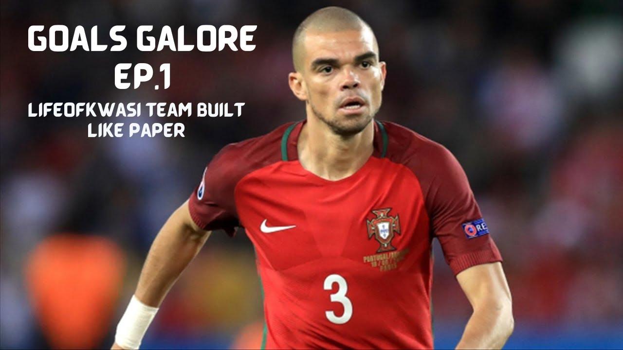 "Download Goals Galore Ep.1/ ""LifeofKwasi's team built like paper"""