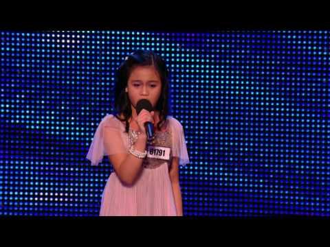 Arisxandra Libantino - One Night Only (Jennifer Hudson) - Britain's Got Talent 2013 [HD]