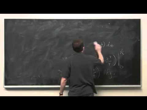 Mass and Density - Integral Calculus