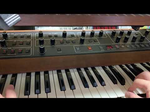 Prophet-5 Rev3 Punchy Envelope Sound
