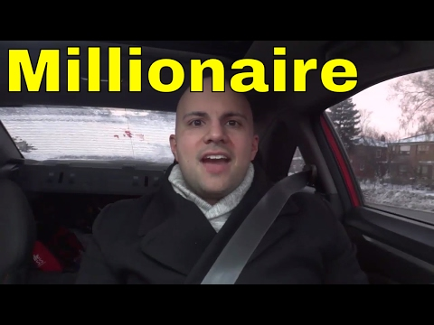 Just Became A Millionaire-What Should I Do