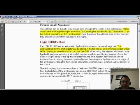 Flip-Flops en serie usando Verilog.  Hackeando-Tec