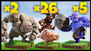 Th10 GoBoHo (Golem + Bowler + Hog Rider) War Attack Strategy | Part 6 | Clash of Clans