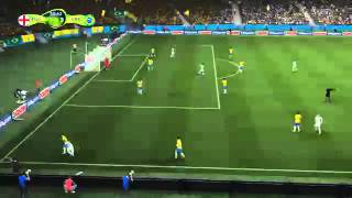 FIFA 14 PS4 World Cup 2 Player Gameplay
