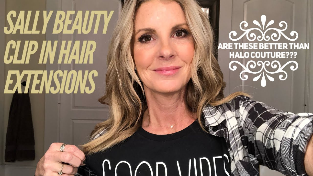 Sally Beauty Clip In Extensions Better Than Halo Couture Youtube