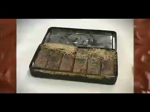 شکلاتی که مربوط به دوران ملکه ویکتوریای بریتانیا است و قدمتی ۱۲۰ ساله دارد