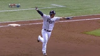 Lobaton wins Game 3 with a walk-off homer