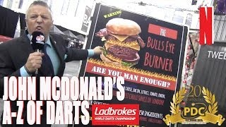 vuclip John McDonald's A to Z of Darts - N is for Nosh