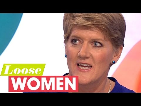 Clare Balding Met Nicole Kidman In A Lift | Loose Women
