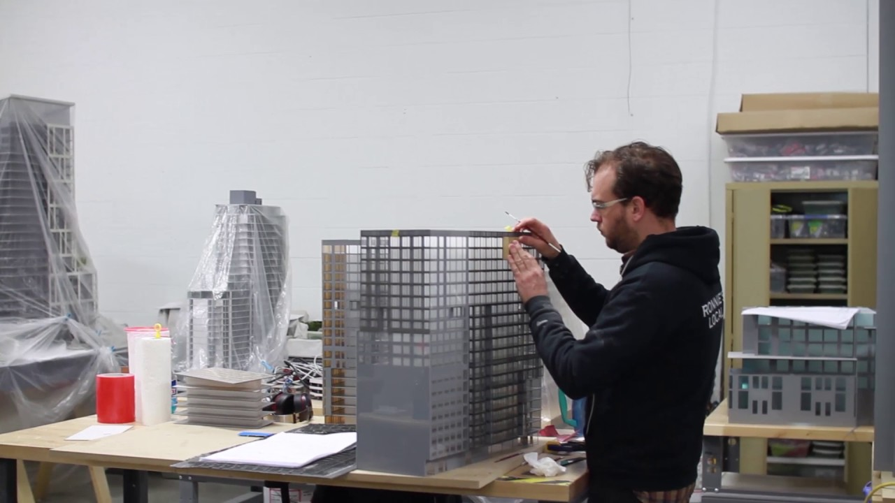 liberty development visiting myles burke architectural models youtube