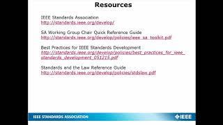 IEEE Photonics Society Intro to Standards Webinar Replay