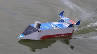 How to make a Boat from RC motor