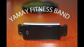 YAMAY Fitness Band - Flash Review ENG