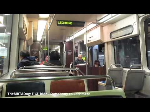 TheMBTADog: MBTA E Green Line Ride - Symphony to Lechmere [Type 7 Kinki Sharyo 3607]